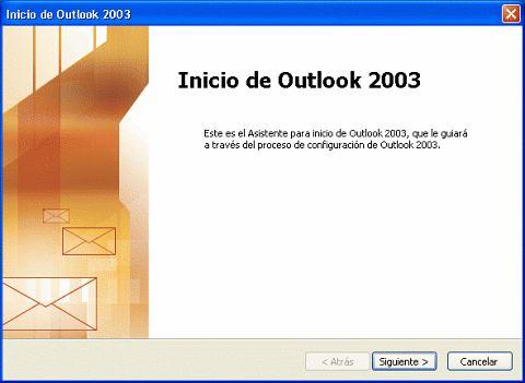 configuración outlook express